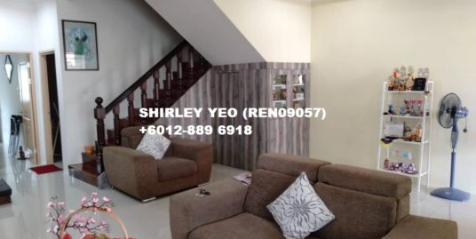 EXCEPTIONAL BIG FRONTAGE TERRACE HOUSE FOR SALE @ TAMAN MERLIN