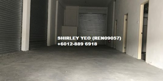 3-Storey Shoplot @ 17th Miles for Sale