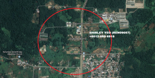 21TH MILE, KUCHING SERIAN ROAD LAND FOR SALE