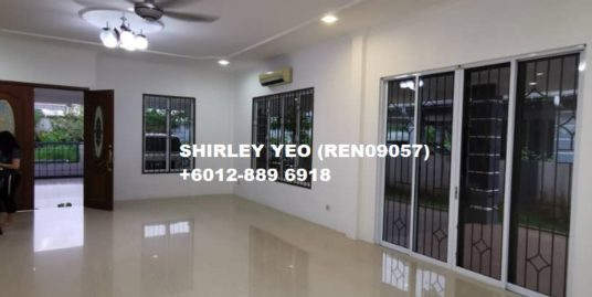 DOUBLE-STOREY SEMI-D @ JALAN HUP KEE FOR RENT